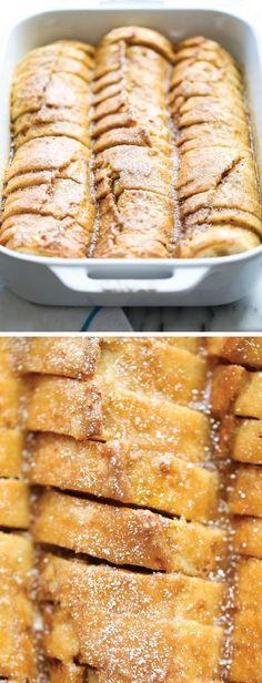 Easiest Overnight French Toast Bake