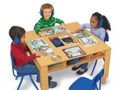 Listening Center Group Table  #LakeshoreDreamClassroom