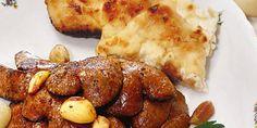 Libazsírban sült fokhagymás nyúlmáj | Vidék Íze Mashed Potatoes, Chicken, Meat, Ethnic Recipes, Food, Whipped Potatoes, Smash Potatoes, Eten, Meals