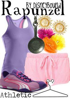 runDisney rapunzel costume