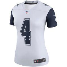 d9f1ca37a63 Dak Prescott Dallas Cowboys Nike Women's Color Rush Legend Jersey - White