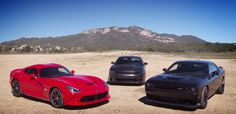 Roadkill now powered by Dodge! To begin with sponsorship, Finnegan and Freiburger called for some new supercar 2015: 707 hp Dodge Challenger SRT Hellcat and Charger SRT Hellcat, plus the 645 hp Dodge Viper GT. This video has more tire smoke than we have ever seen of these cars.