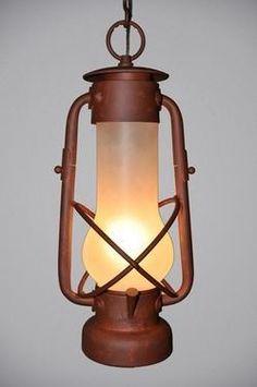 Decatur Lantern Hanging Lg. Pendant
