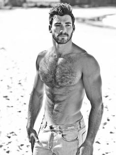 I find it strange when I see men with zero body hair. How can you accept anything less than this?!