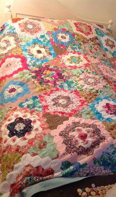 Patchwork bedcover