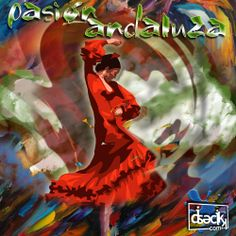 """diseño gráfico """"pasión andaluza"""" by diseclick.com"""
