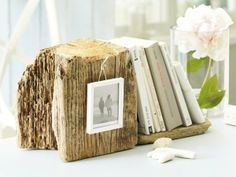Free Bookends from the beach!  http://www.completely-coastal.com/2012/04/free-decorative-bookends-from-beach.html