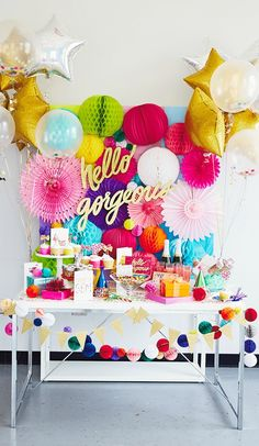 Make someone's day with this sparkling compliment featured on Think.Make.Share., a blog from the creative studios at Hallmark. This party inspiration is filled with fun details and colorful confetti to make a birthday celebration extra special!