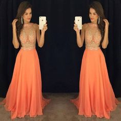 Modest Prom Dresses,Sexy New Prom Dress,New Arrival Crystal Prom Gowns Latest Sexy Sleeveless Evening Gowns