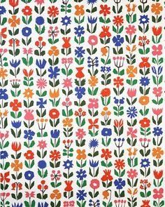 Alexander Girard Garden Pattern