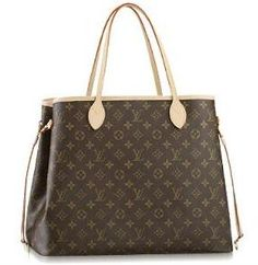 Louis Vuitton shopping monogram bag this looks about the same size as mine. I think I need a second Louis :)