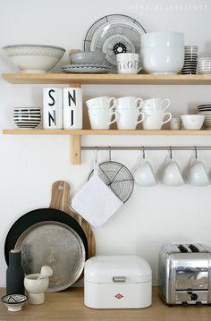 #kitchen // Simple Lösung für mehr #Ordnung in der #Küche