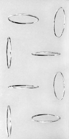 Cerchi virtuali, 1967, by Getulio Alviani Sculpting, Artsy, Abstract, Artwork, Opera, Pattern, Surfing, Mood, Fashion