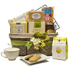The Art of Tea Basket  | Gourmet Gift Basket | SavoryPantry.com