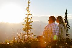 Mountain top relaxed engagement photo shoot in Fernie BC. Lifestyle Photography, Wedding Photography, Engagement Photos, Photo Shoot, Mountain, Weddings, Bride, Couple Photos, Fun
