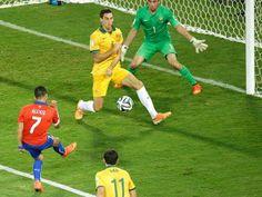 Brasil 2014 Chile 3-1 Australia