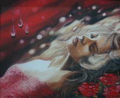 Oil Paint Romantic Series (Yağlıboya Romantic Seri) Romantic Series, Painting, Heaven, Oil, Rain Fall, Art, Pintura, Sky, Painting Art