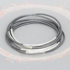 Bloom Boutique Adelia Multi Strand Personalised Bracelet