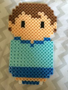 Christopher Robin from Winnie the Pooh perler bead
