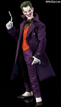Batman: Joker, Voll bewegliche Deluxe-Figur ... http://spaceart.de/produkte/bm003.php