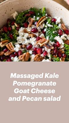 Kale Salad Recipes, Salad Recipes For Dinner, Dinner Salads, Healthy Salad Recipes, Diet Recipes, Cooking Recipes, Recipes With Kale, Summer Vegetarian Recipes, Kale Salads