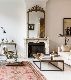 vintage modern amsterdam mansion / @sfgirlbybay