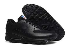 Nike Womens Air Max 90 American Flag Independence All Black