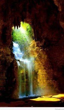 Waterfall Cave in Romania, Cugir