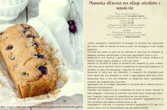 The recipe of avoine and cherries cake with only 91 calories by slice!