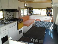 remodeled vintage camper 1973 Holiday Rambler
