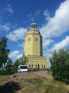 Haukkavuoren näkötorni, Kotka