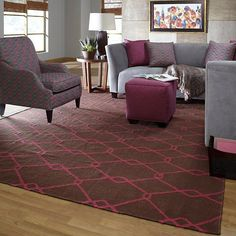 Fallon delicate, sophisticated lattice pattern rugs with colors specifically chosen to coordinate with todays home furnishings trends; the creator Jill Rosenwald is the top designer known for beautifully colored, hand-made ceramics. The Fallons pattern and the hand woven flat weave construction beautifully combine to highlight its simplicity and sophistication.