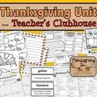 The Thanksgiving Unit includes resources addressing skills such as persuasive writing, vocabulary, nouns, journaling, word study, and more!  Includ...