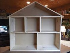 wooden doll house for barbies - Google Search