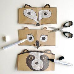 Creación de una careta mediante el uso de cartón, tijeras, pegamento y rotring como indica el dibujo
