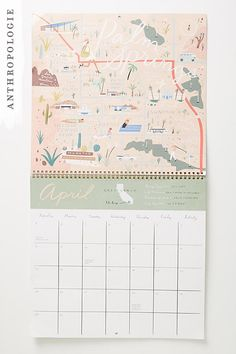 Going Places 2018 Calendar | Last minute stocking stuffers