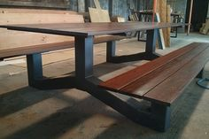 products_outdoor_modern_industrial_style_ipe_picnic_table