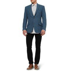 Richard JamesHyde Slim-Fit Harris Tweed Blazer|MR PORTER