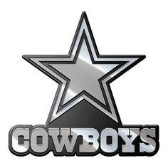 Dallas Cowboys Auto Emblem - Premium Metal