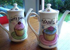 cafeteras cupcakes