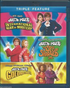 Austin Powers Collection (Blu-ray Disc, 2012, 3-Disc Set)  Mike Myers