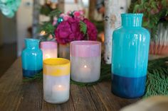 DAINTY VASES IN 4 COLORS AND SIZES