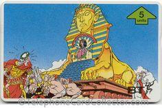 - BT Phonecard - Asterix - Cleopatra, Beauty of the Nile Cleopatra Beauty, Photo Scan, Telephone, Sci Fi, Princess Zelda, Fantasy, Comics, Cards, Fictional Characters