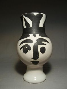 picasso ceramics catalog | lot 402 402 picasso madoura ceramic figural vessel view catalog