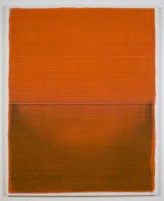 "Saatchi Art Artist Alexander Jowett; Oragne Abstract Painting, ""Tropic of Capricorn"" #art"