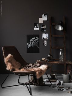 IKEA Livet Hemma Color cioccolato so cozy Ikea Inspiration, Interior Inspiration, Ikea Sofas, Ikea Chair, My Living Room, Home And Living, Living Spaces, Sinnerlig Ikea, Interior Minimalista