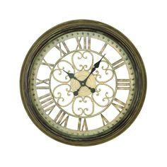 Uma Mtl Antique Wall Clock - Beyond the Rack