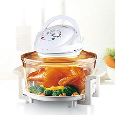 A blend of function and style, the Rosewill R-HCO-15001 Infrared Halogen Convection Oven is a great addition to any modern kitchen. It harnesses halogen heat, convection, and infrared technologies to cook quickly and evenly, without preheating or defrosting. Use it to prepare everything from... - http://kitchen-dining.bestselleroutlet.net/product-review-for-rosewill-r-hco-15001-infrared-halogen-convection-oven-with-stainless-steel-extender-ring-12-6-18-quart-healthy-low-fat-