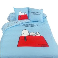MCT - Bedding Peanuts Duvet Cover Set Snoopy 140 x 200/50 x 75 cm