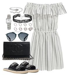 """Untitled #2305"" by theeuropeancloset on Polyvore featuring Yves Saint Laurent, Christian Dior, ASOS and Tissot"